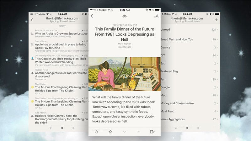 Illustration for article titled Reeder 3 Adds Support for iOS 9 Features