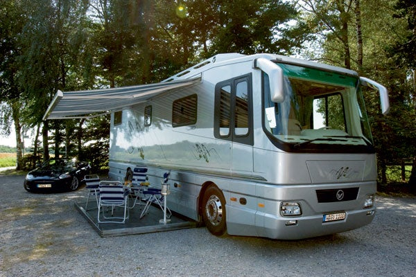 Volkner Mobil CarCarrying Motor Home Could Be Yours For 12 Million