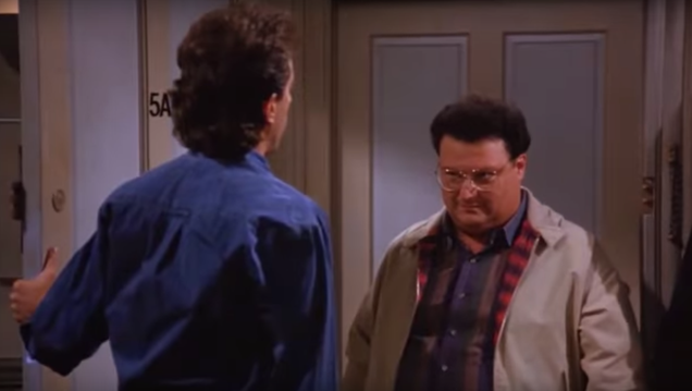 Tropical storm Jerry is inspiring some Seinfeld flashbacks
