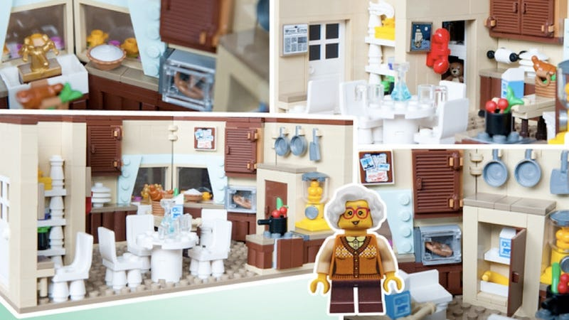 Illustration for article titled Golden Girls Legos Are the Best Presents That Don't Exist (Yet)