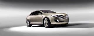 Illustration for article titled Detroit Auto Show: 2008 Lincoln MKT Concept