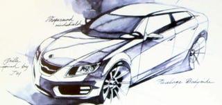 Illustration for article titled Next Saab 9-5 Design Direction Revealed At Owner Event
