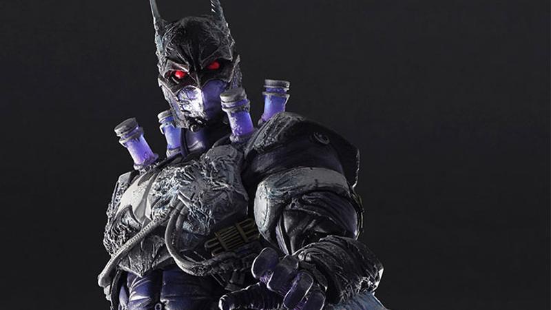 Coolest Batman Toys : This batman mr freeze mashup figure is pretty cool