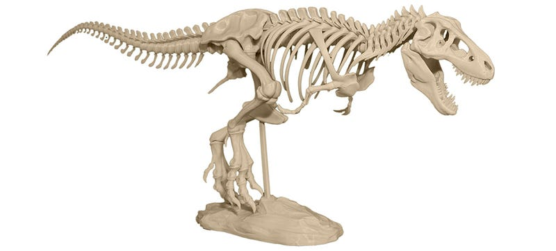 Illustration for article titled Start Your Own Private Museum With a 3D Printer and This T-Rex Model