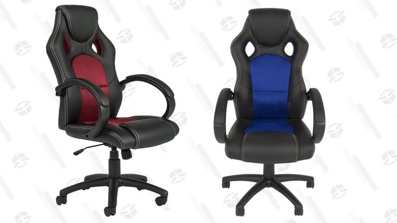 Executive Racing Style Desk Chair | $65 | Best Choice Products | Promo code WOW5
