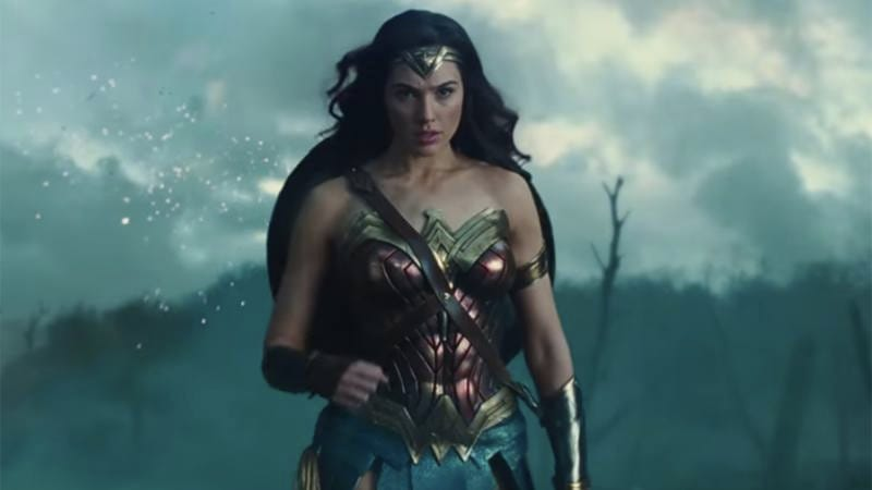 Wonder Woman staring off into the distance.
