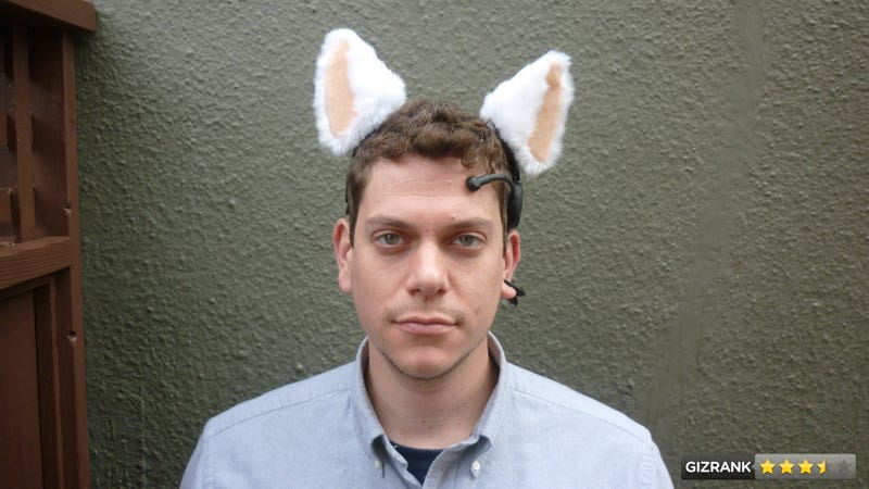 Illustration for article titled Necomimi Brainwave Cat Ears Review: Why You Need Psychic Cyborg Animal Ears