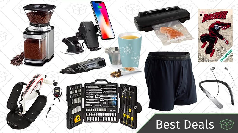Illustration for article titled Tuesday's Best Deals: ExOfficio Underwear, Phone Dash Mounts, Bluetooth Headphones, and More