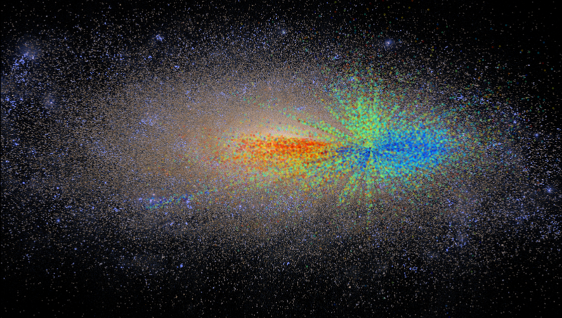 Illustration for article titled The First Age Map of the Galaxy Could Reveal Our Cosmic Origins
