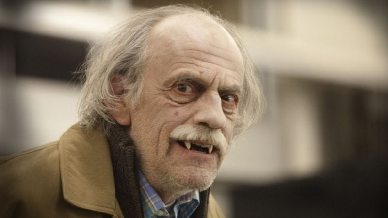 Illustration for article titled Christopher Lloyd on playing a vampire, a taxi driver, a toon, and more