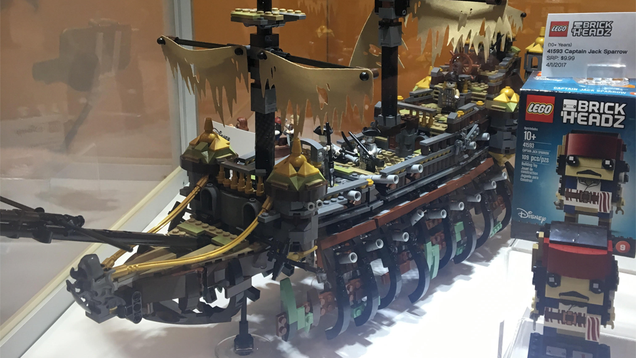 lego s new pirates of the caribbean ship can open itself up like a skeleton s ribcage