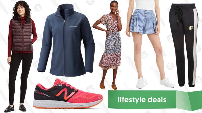 Illustration for article titled Wednesday's Best Lifestyle Deals: PUMA, Columbia, Uniqlo, Joe's New Balance, and More