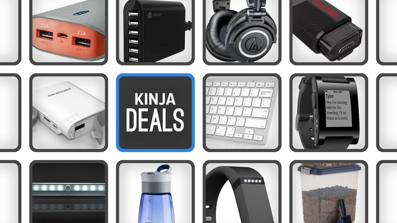 Illustration for article titled Today's Best Deals: Flash Storage, Fitbits, Smart Watches, and More