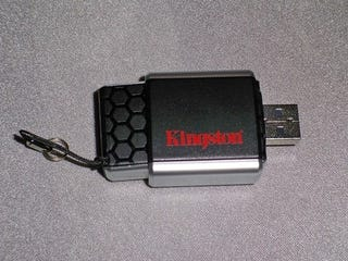 Illustration for article titled Kingston MobileLite G2 Card Reader Protects Your Cards Like They're Delicate Flowers