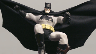 Illustration for article titled This Toy might be the best rendition of The Dark Knight Returns' Batman