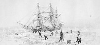 Illustration for article titled Ship Lost in the Arctic 160 Years Ago Found Thanks to Climate Change