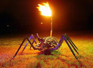 Illustration for article titled Fire-breathing Scorpion Looks Cool, Lacks Brains