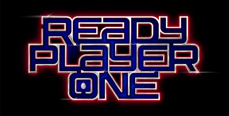Illustration for article titled There's an Easter Egg Hidden in the Ready Player One Movie Logo