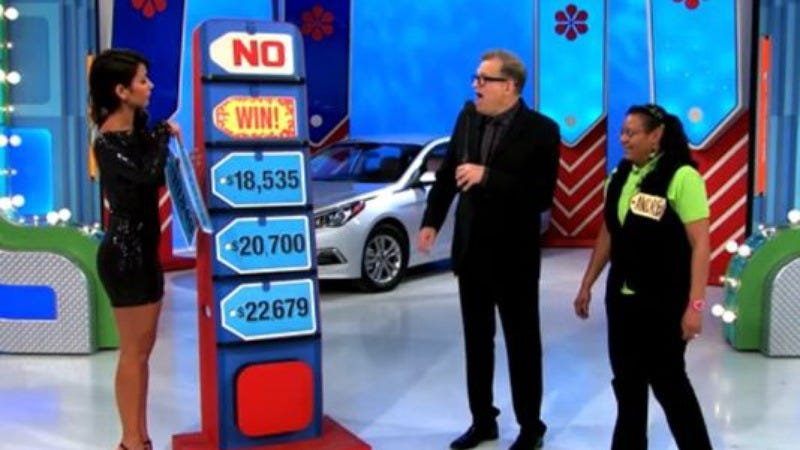 Illustration for article titled Hero Price Is Right model begins the revolution by just giving away a car