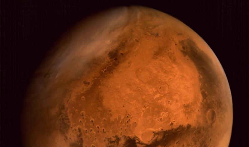 Illustration for article titled La Mars Orbiter India envía su 1ª foto completa y en color de Marte