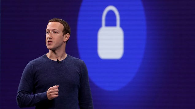 Mark Zuckerberg:  Privacy