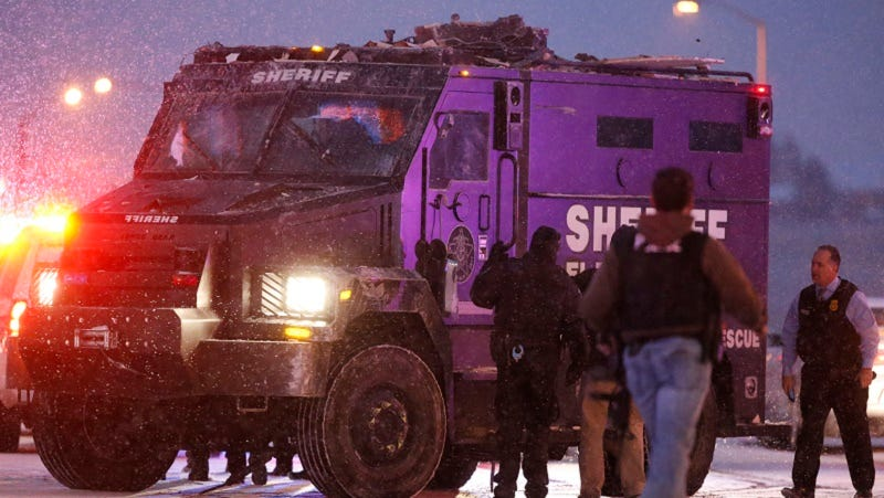 Illustration for article titled Planned Parenthood Shooter Has Been Investigated by Police for Numerous Incidents, Including Domestic Violence