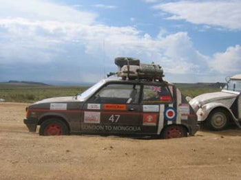 Illustration for article titled The Mongol Rally!
