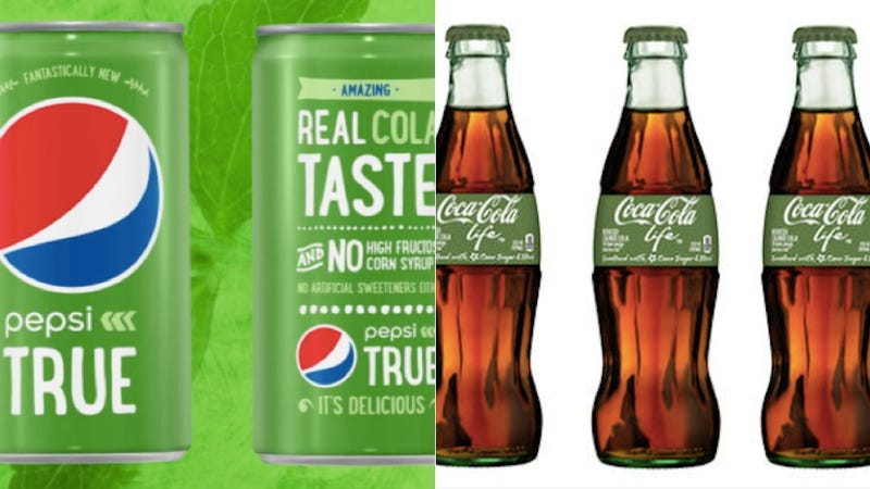 Illustration for article titled Pepsi Is Launching a Stevia-Sweetened New Cola