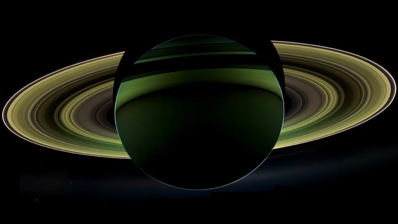 """Illustration for article titled The """"Grand Finale"""" To Cassini's Tour of Saturn Sounds Pretty Damn Epic"""