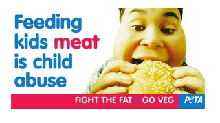 Illustration for article titled PETA Now Comparing Meat To Child Abuse