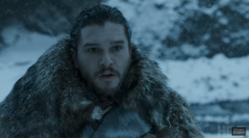 Aren't you cold babe? Screengrab via HBO.
