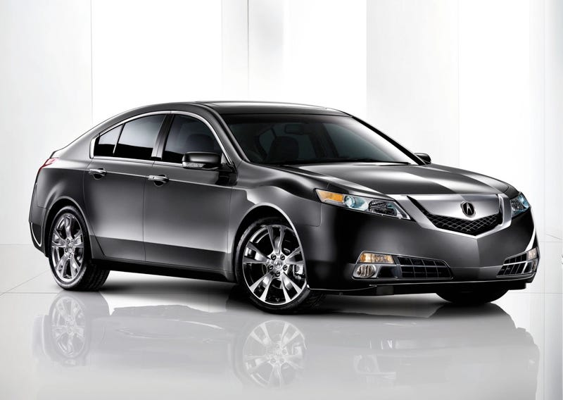 Illustration for article titled 2009 Acura TL Finally Smiles Its Toothy Grin For The Camera