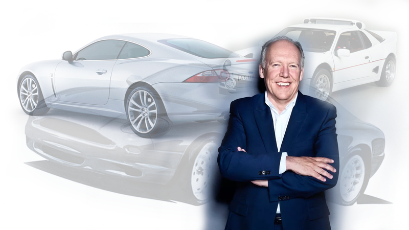 Illustration for article titled Ian Callum Retires from Jaguar as One of the GOATs