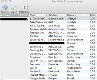 app store expense monitor keeps a leash on your app store purchases