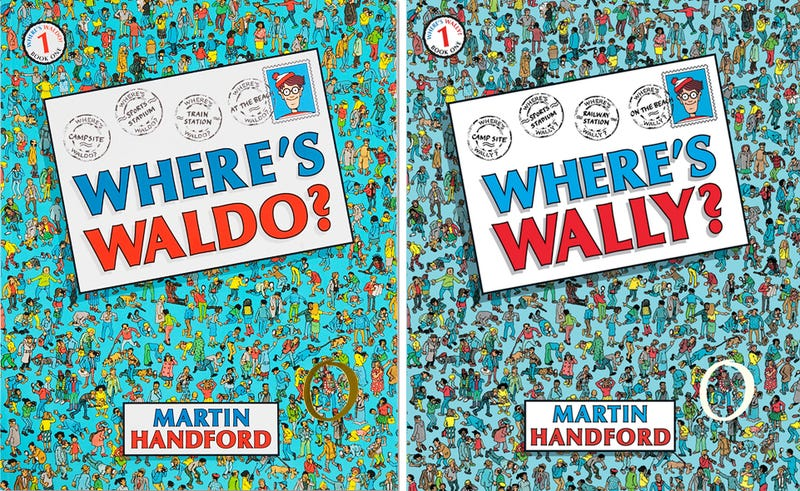 Illustration for article titled Waldo from Where's Waldo? has different names all over the world