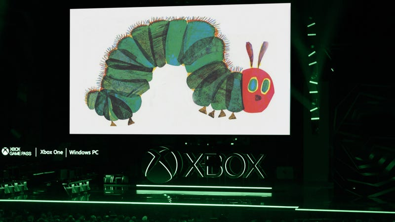 Illustration for article titled FromSoftware Announces Partnership With Eric Carle For Game Set In World Of Very Hungry Caterpillars
