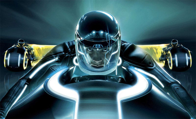Illustration for article titled An Eyes-On Sneak Peek At Tron Legacy... In 3D!!!