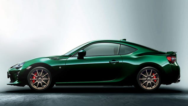 d1d8fe02c5d I Am Extremely Here for this British Racing Green Toyota 86 Limited ...