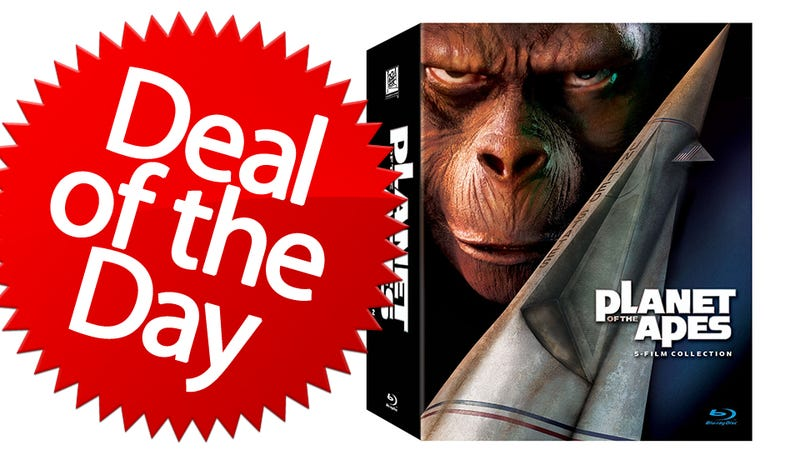 Illustration for article titled This Planet of the Apes Collection Is Your Get-Your-Hands-Off-Me Deal of the Day