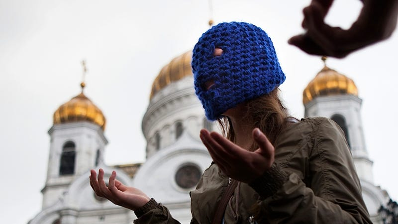 Illustration for article titled Russia's Religious Leaders Tardily Forgive Pussy Riot