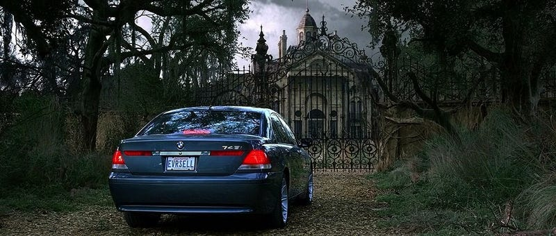 Illustration for article titled BMW vs. Mansion: BMW always wins.