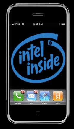 Illustration for article titled Apple Eyes Intel Chips for iPhone?