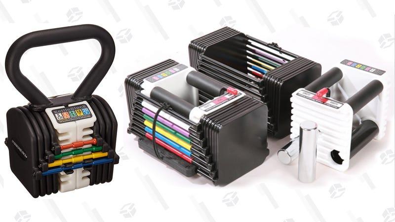 Powerblock  Adjustable Weights | $55-$240 | Woot
