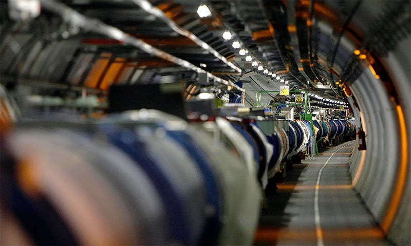 Illustration for article titled El LHC del CERN arranca aún más potente en busca de la supersimetría