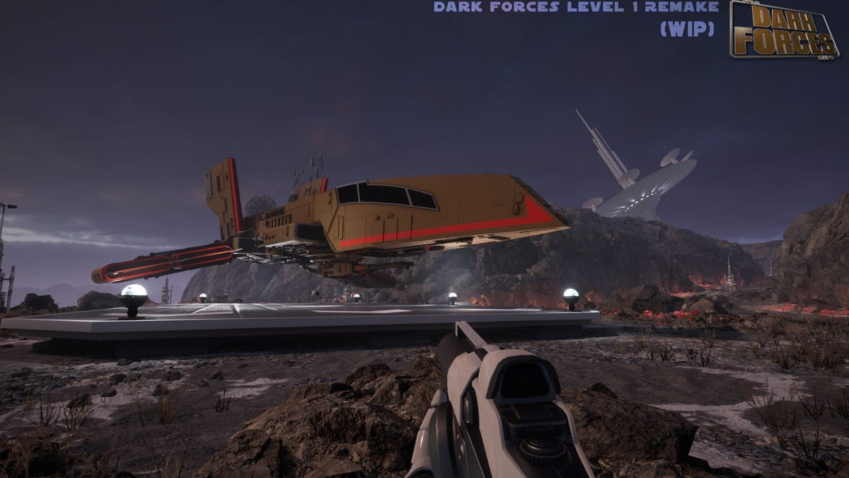 Fan Is Remaking The First Level Of Star Wars: Dark Forces In