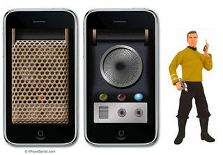 Illustration for article titled Star Radio Communicator iPhone App is NOT AT ALL Like Anything from Star Trek