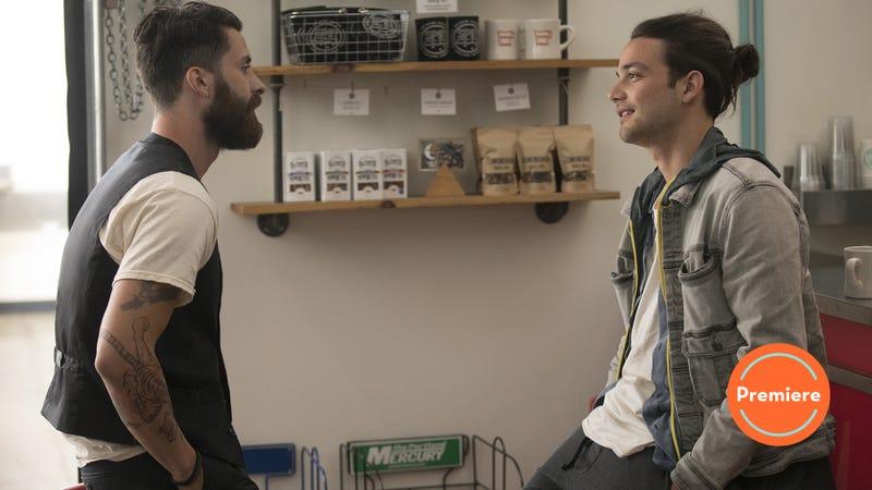 Andy Bean (left), Daniel Zovatto (Photo: John P. Johnson/HBO)