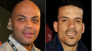 Charles Barkley (Bryan Steffy/Getty Images for Showtime); Matt Barnes (Kevin Winter/Getty Images)