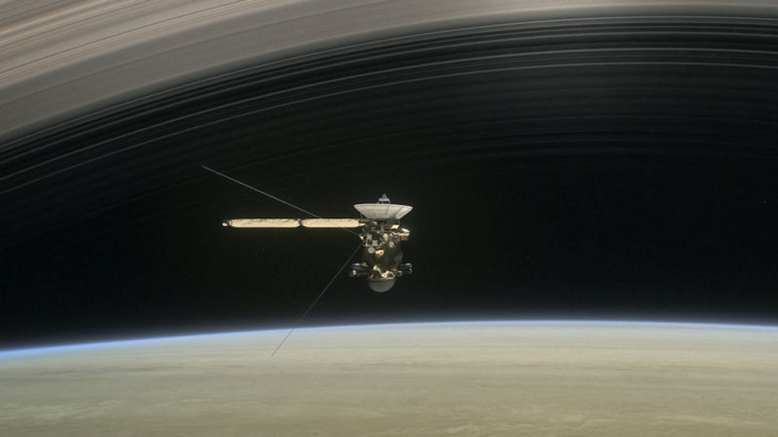 This Is Our First 'Sound' From the Creepy Void Inside Saturn's Rings