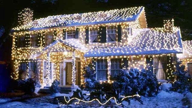 how to hang a kickass christmas lights setup. Black Bedroom Furniture Sets. Home Design Ideas